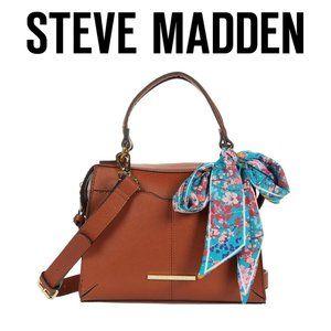 Steve Madden Breese Crossbody Purse COGNAC